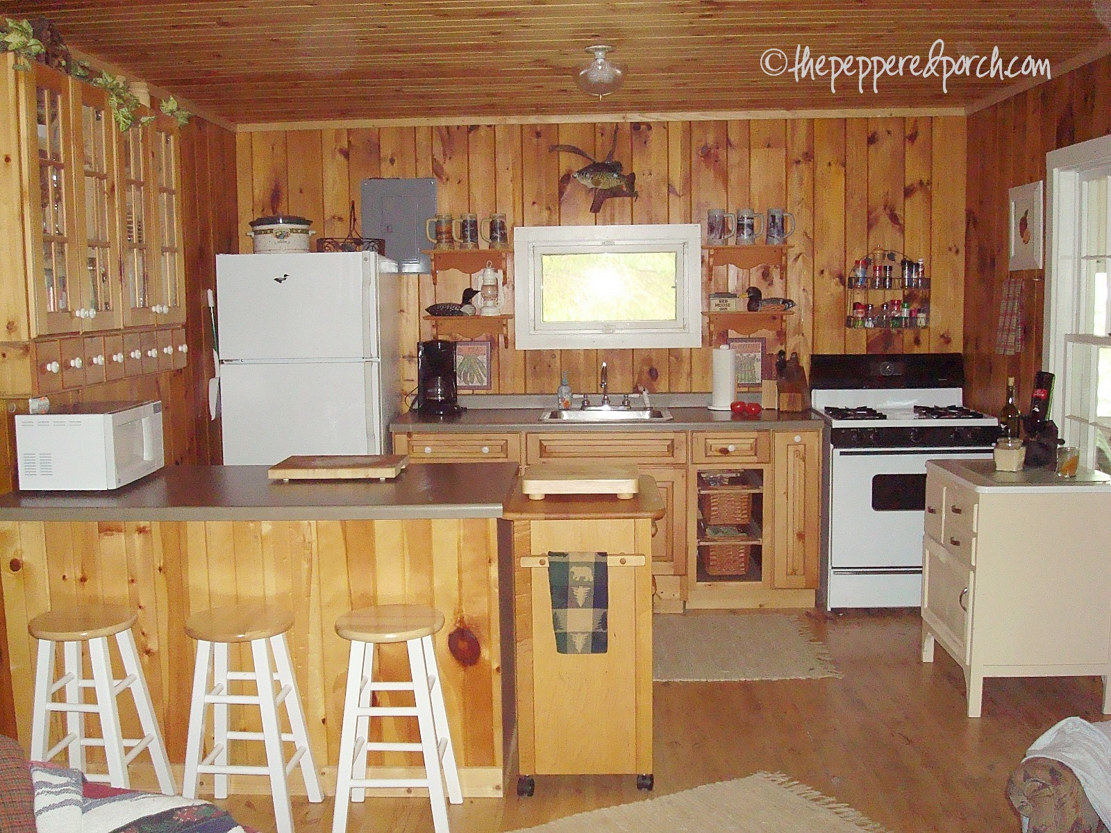 cabin kitchen cabinets